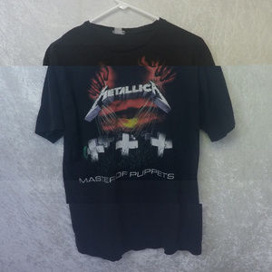 Other - Vintage Master of Puppets Shirt Metallica L Black